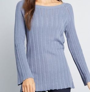 Modcloth Pointelle Elegance Knit Tunic